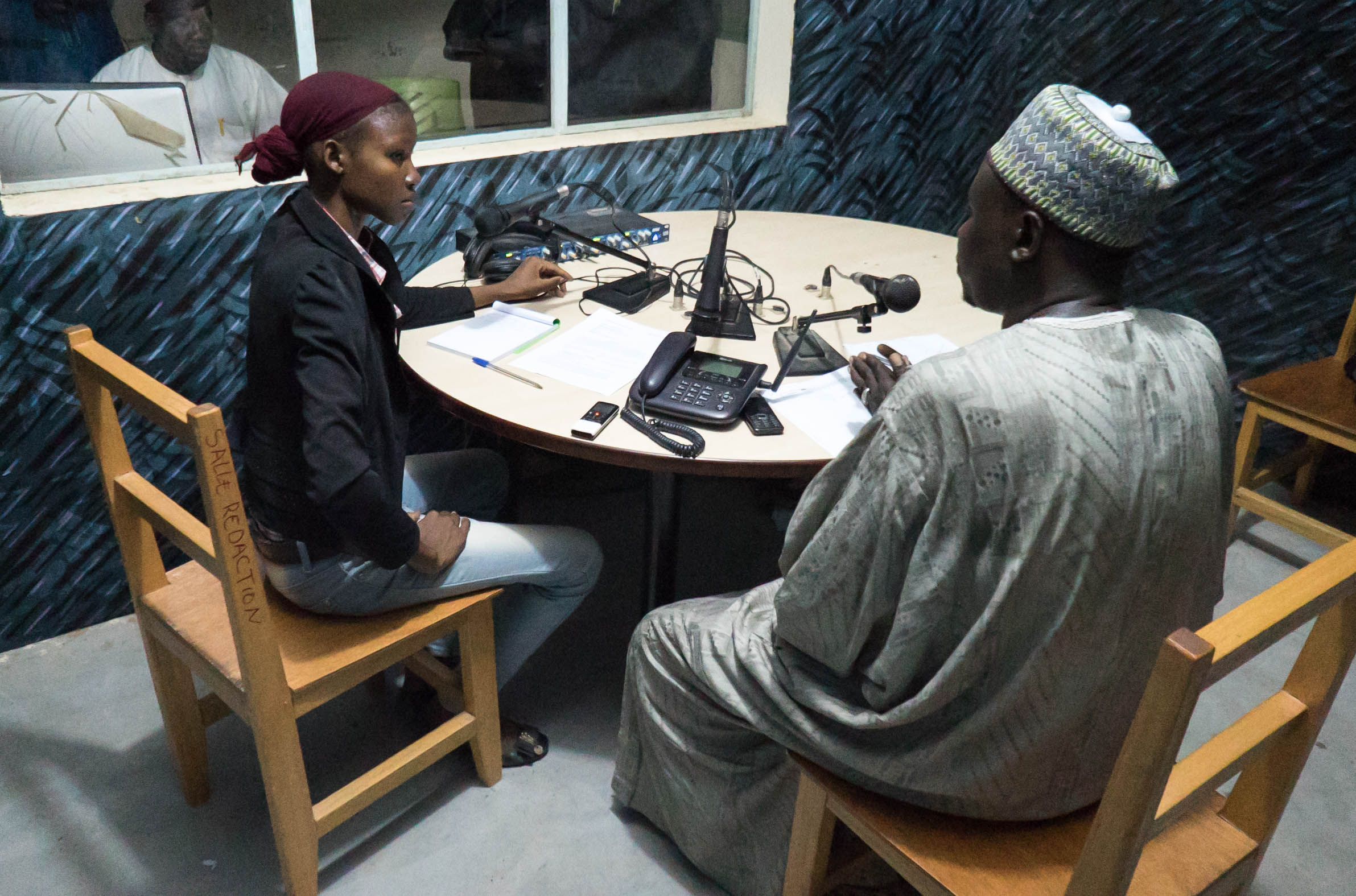 Tchad : « CHERS AUDITEURS, VOUS AVEZ L'ANTENNE »