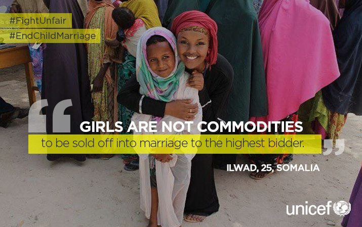 Child brides in Africa could more than double to 310 million by 2050