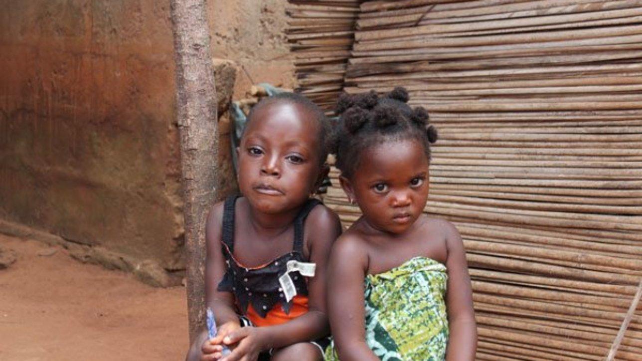 Enfants de la famille Awala