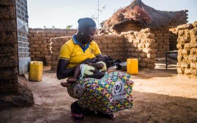 Série « Donner le sein, sauver des vies » avec Le Monde Afrique