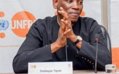 Mabingué NGOM, Directeur régional du FNUAP consacré Homme de l'année 2020 par Confidentiel Afrique